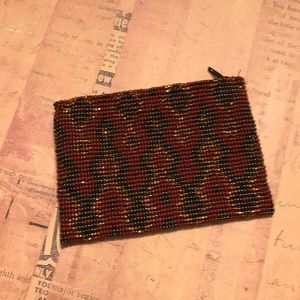 Handbags - Beaded Small Carry Pouch